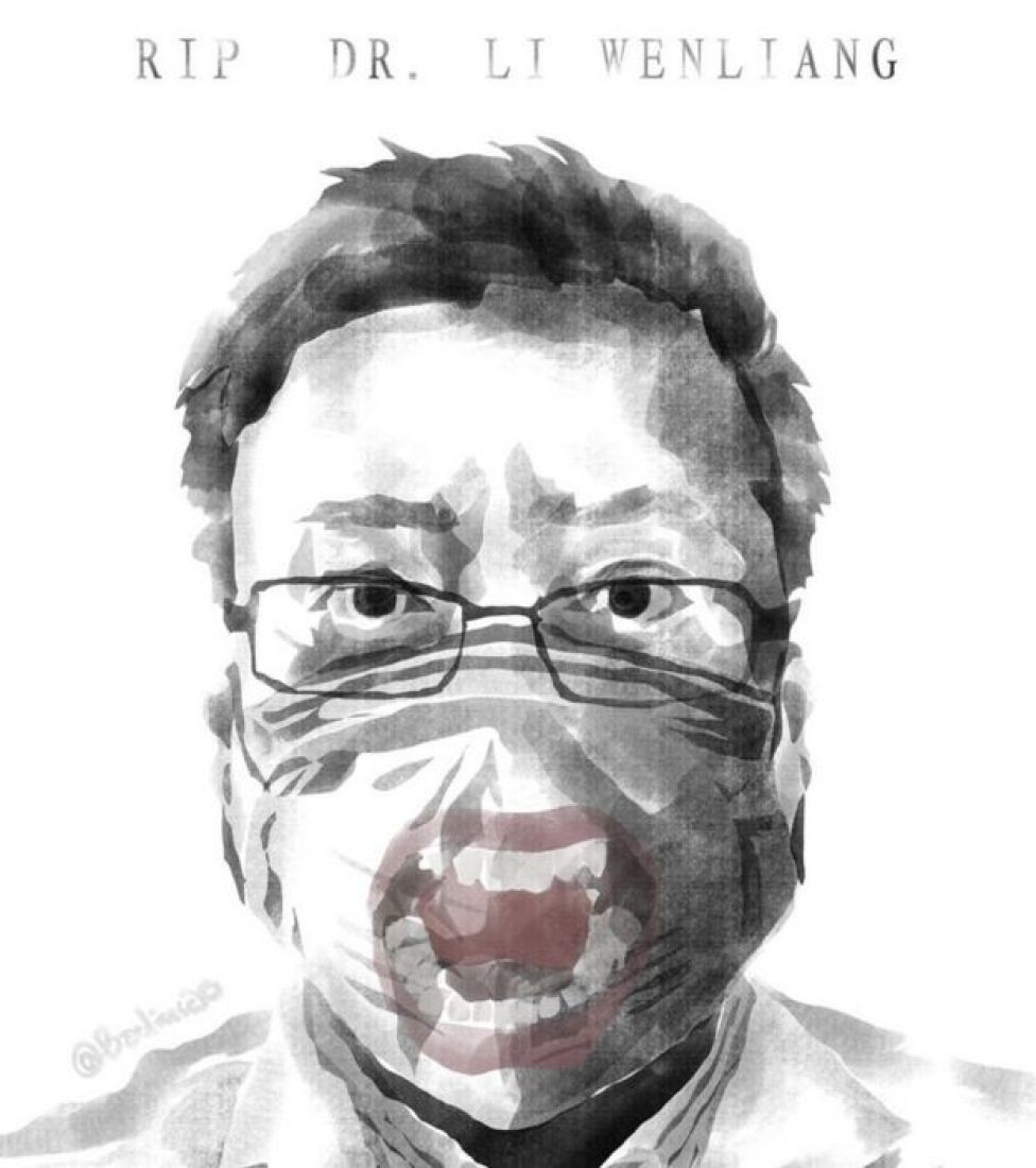 Doctor Li Wenliang tried to warn authorities about the new virus and died after contracting it