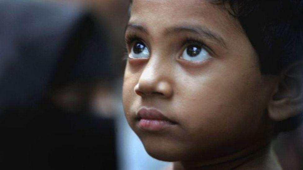 niño en INdia