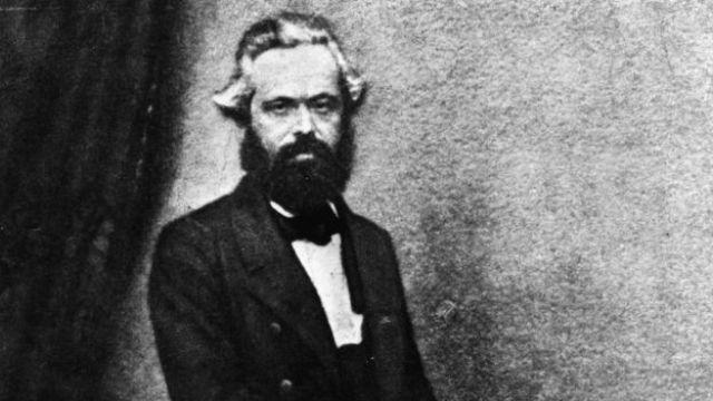 Marx em 1860