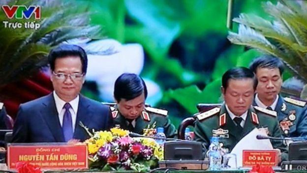 Ảnh tư liệu: Đại hội thi đua quyết thắng toàn quân của Quân ủy Trung ương 1/07/2015 vắng Đại tướng Thanh
