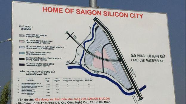 Saigon Silicon City sign