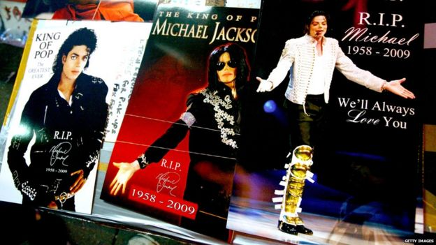 Michael Jackson memorabilia is on display for sale