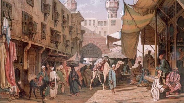 سوق في القاهرة