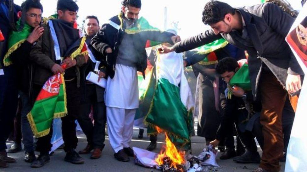 تظاهرکنندگان در کابل