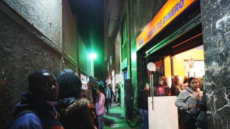 Oficina de remesas en Santiago