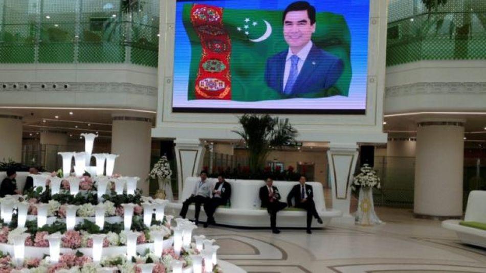 Aeropuerto de Ashgabat, Turkmenistán.