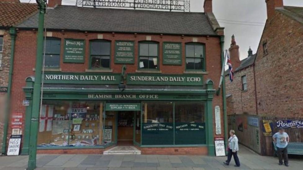The old print shop at Beamish