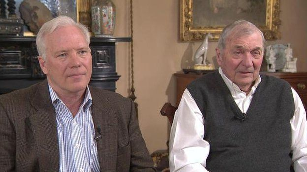William y Harrison Tyler. (Foto: CBS)