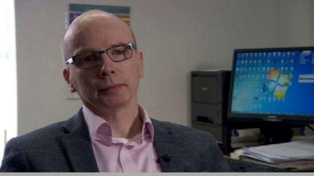 Dr Michael McKenna, GP at Falls surgery, Belfast