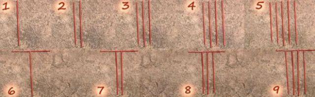 Números en barras