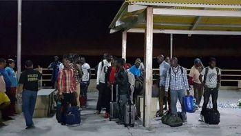 Africanos resgatados