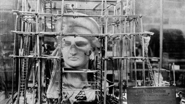 Cabeza de la Estatua de la Libertad