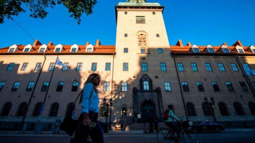 Edificio de la corte del distrito de Estocolmo