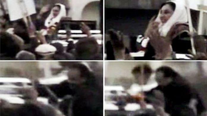 El atacante le disparó antes de inmolarse. (Foto: Dawn News TV)