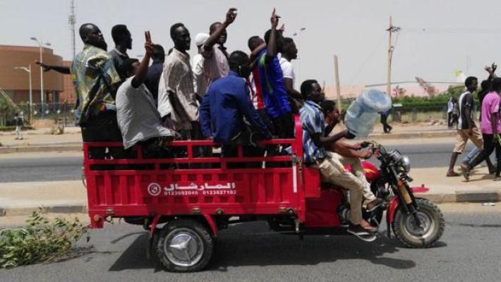 protestas en Jartum
