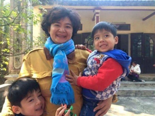 Bà Trần Thị Nga có hai con trai nhỏ 5 và 7 tuổi