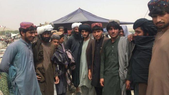 Mladi trgovci u Musa Qali
