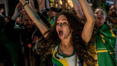 Partidarios de Bolsonaro