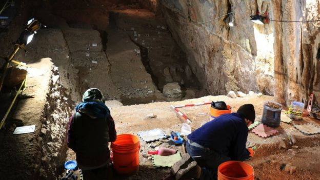 cueva del Chiquihuite