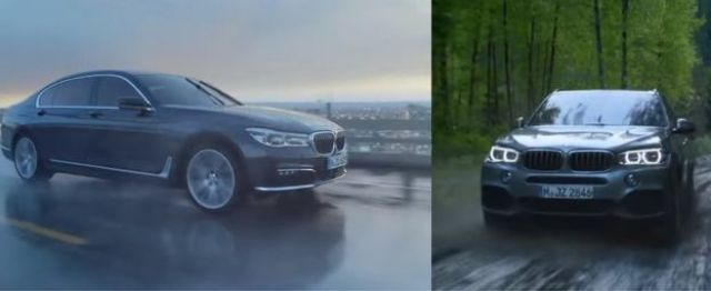BMW advert