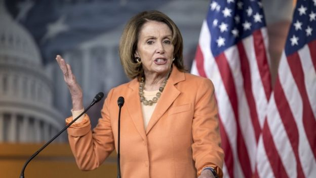 US House Minority Leader Nancy Pelosi