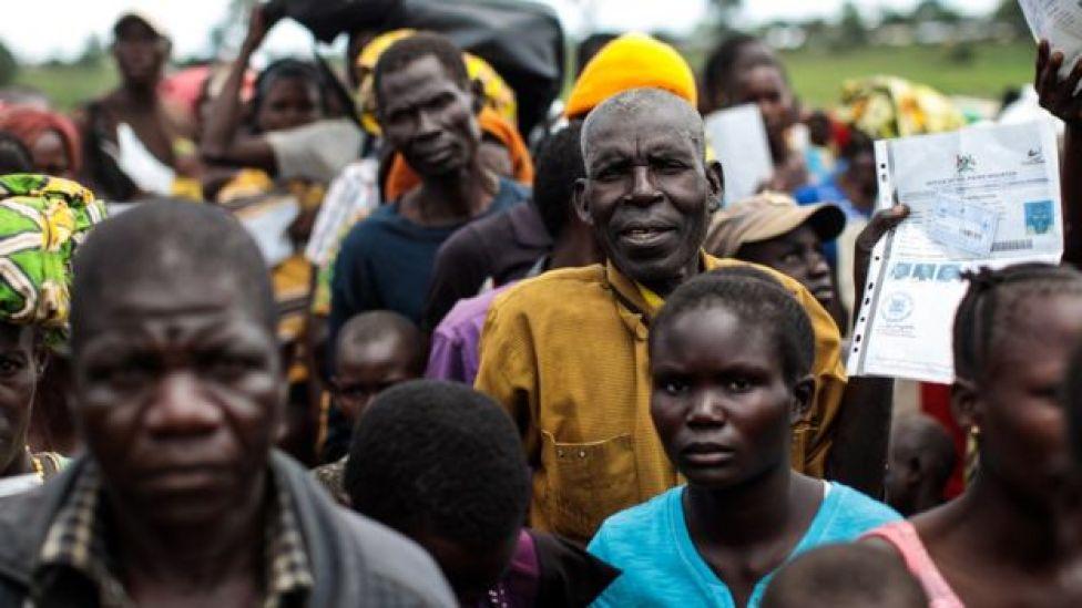 Refugiados congoleses em Uganda