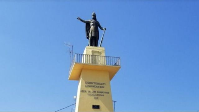 Monumento a Xicohtencatl Axayacatzin
