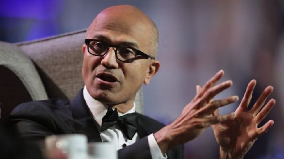 Satya Nadella, director de Microsoft
