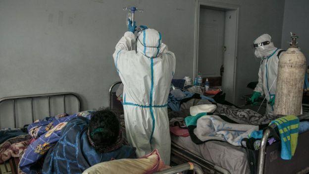 Les hôpitaux d'Antananarivo doivent faire face à cet afflux dans les cas graves