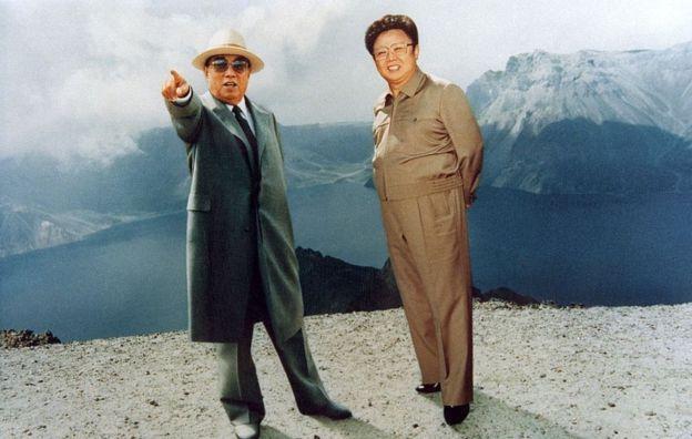 كيم ايل سونغ المؤسس ووالد الزعيم الحالي