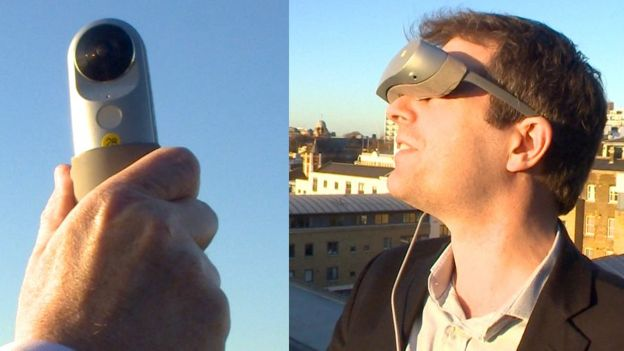 LG 360-degree camera and virtual reality headset