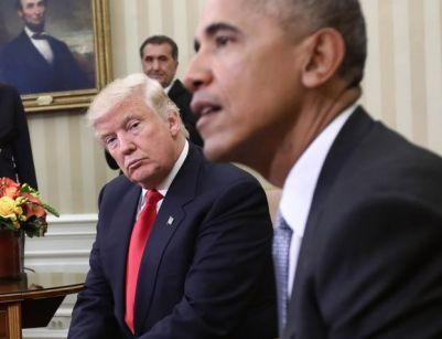 Image result for obama y trump