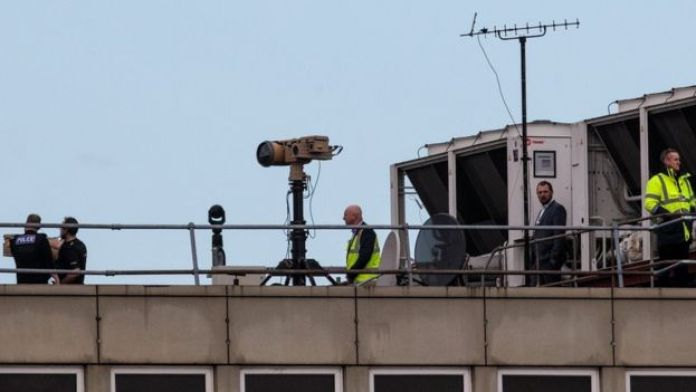 Anti-drone equipment at Gatwick