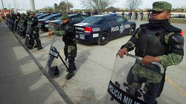 La Guardia Nacional será integrada por policías militares.