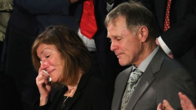 Cindy y Fred Warmbier