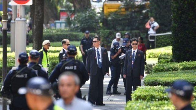 Guardaespaldas de Kim Jong-un
