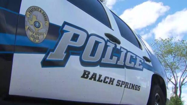 Balch Spring police car