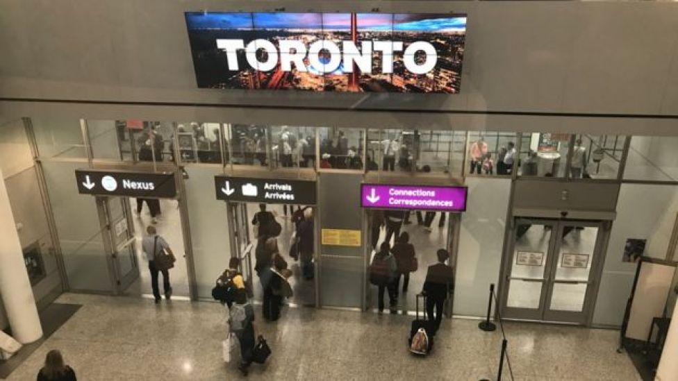 Aeropuerto Internacional Pearson de Toronto, Canadá.