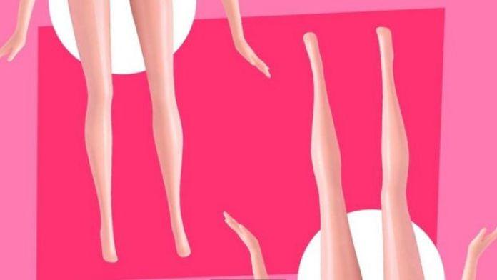 Ilustración de las piernas de dos mujeres sentadas.
