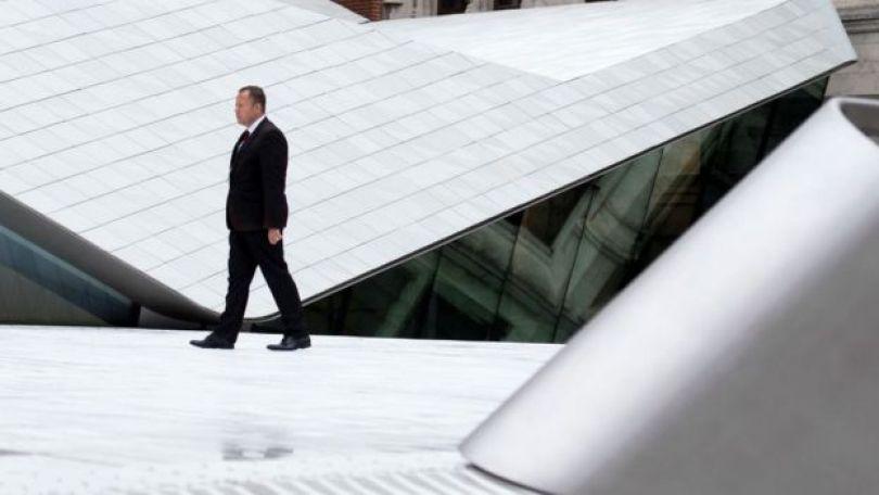 Os Sacklers financiaram un pátio futurista no Museu Britânico, que foi batizado com o nome da família.