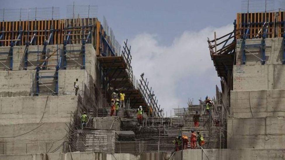 Ethiopia dam construction