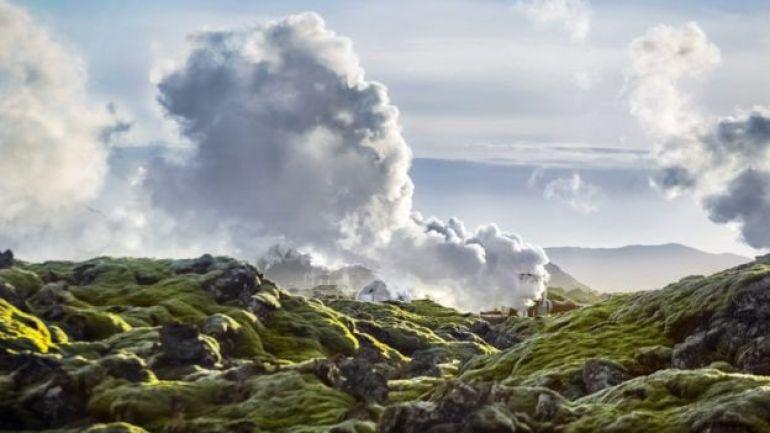 Generación de energía geotérmica en Hellisheidi