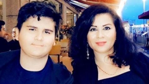 Farida Sadaat y su hijo