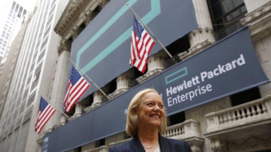Meg Whitman, chefe da Hewlett Packard Enterprise