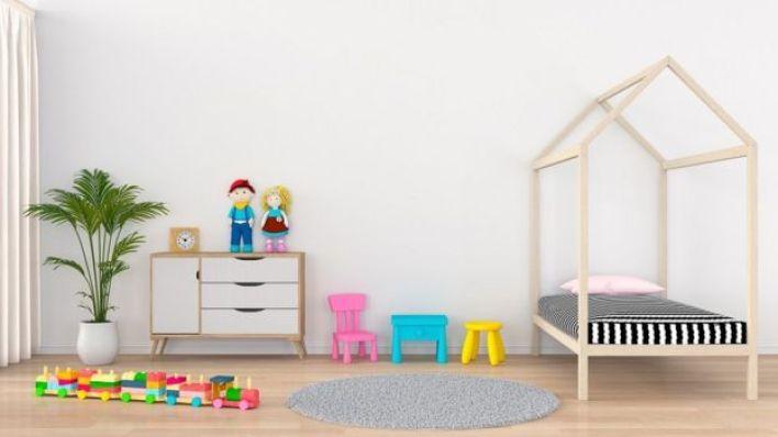 غرفة نوم أطفال من العصر الحديث