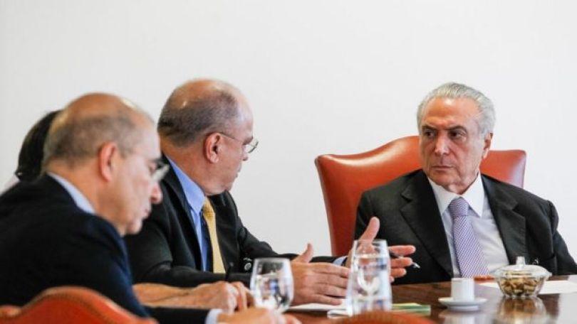 Reunião Etchegoyen Temer