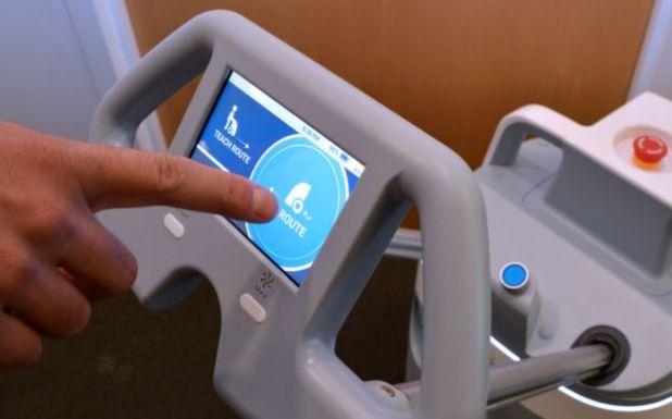 Robot controls of The Whiz