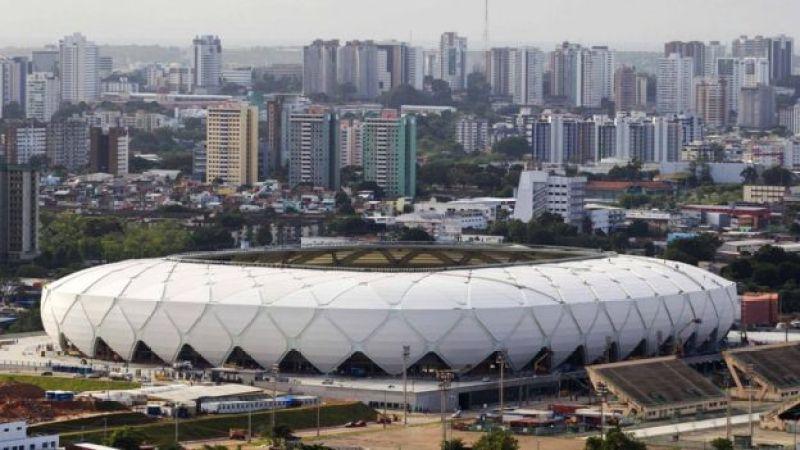 Arena Amazônia, uma das sedes da Copa 2014