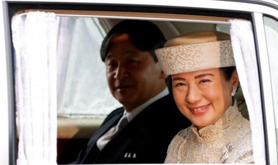 Принц Нарухіто та його дружина Масако
