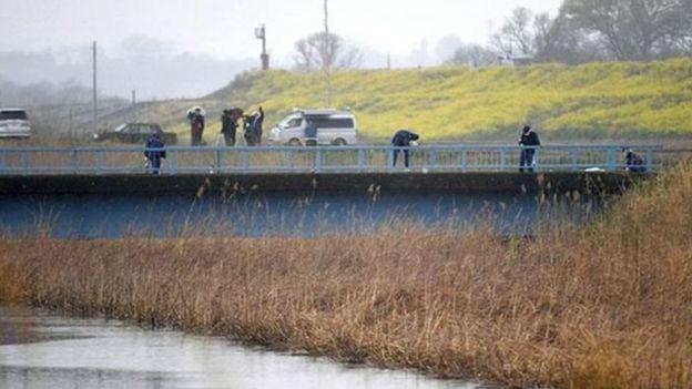 Thi thể em Lê Thị Nhật Linh được một người đàn ông đi câu cá ở Sông Tone đó tìm thấy